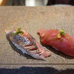 鮨まるばつ - 秋刀魚と鰹