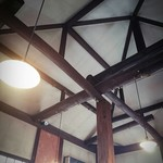 きたこま - お店の天井…落ち着くよ