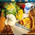 森のcafe - キッシュセット
