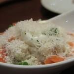 57359532 - 「炙り〆鯖とサーモンのポテトサラダ」