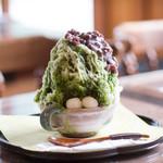 茶工房・かはだ - 料理写真:緑茶氷