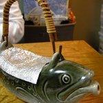うさぎ - 料理写真:(2010/10月)「岩魚の骨酒」