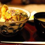 タレカツ - 旬の野菜カツ丼(800円)