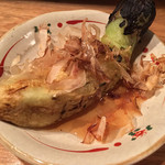 Second Court 魚 - 焼きナス