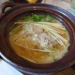 古拙 - 旬の小鍋(秋刀魚のつみれ汁)