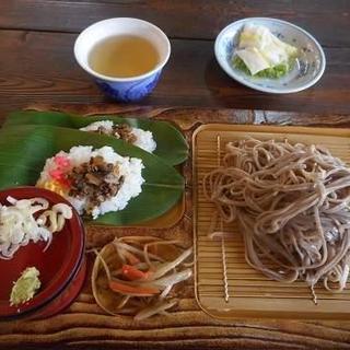 かじか亭 - 料理写真:ざるそば定食1130円