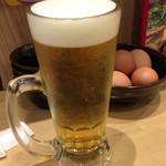 東大 - 生ビール♪