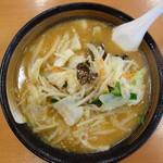 幸楽苑 - 料理写真:味噌野菜ラーメン(\590税抜き)
