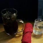 57368860 - コーラと赤いおしぼり