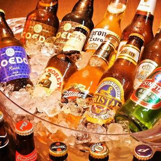 プレミアム飲み放題で20種類以上のビールが飲み放題!!