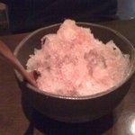 オーガニック カムー - かき氷(カシス)