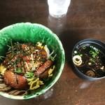 鉄板ダイニング 誉 - ステーキ丼(ランチ)