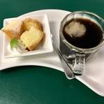 マテリア - 一口デザートとコーヒーで一息!