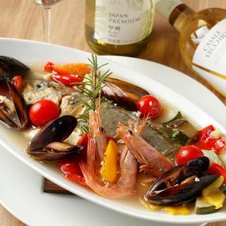 和食歴30年の料理人が作る絶品イタリアン