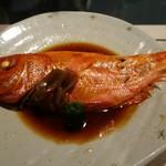 さらの木 - (2016/9月夕食)伊東産金目鯛の煮つけ