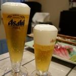 さらの木 - (2016/9月夕食)生ビール