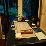 さらの木 - (2016/9月夕食)テーブル