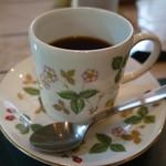 さらの木 - (2016/9月朝食)コーヒー