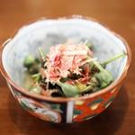 あそび割烹 さん葉か - 秋田の山菜みずのお浸し