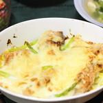 Bread lunch & Cafe La mia casa - 10月のメインメニューは秋鮭のグラタン。