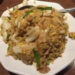 中華料理 谷記 - スタミナ焼きチャーハン。これで650円はCPいいなあ。