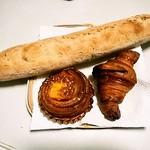 ブーランジェリーラフィ - バゲット、クロワッサン、試作のベーコンチーズ