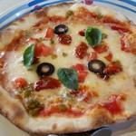 ジョリーパスタ - ピッコロセミドライトマトとハラペーニョ