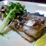 やきとり 万 - 太刀魚の塩焼き