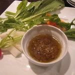 オステリア ラ・マンテ - 有機野菜のバーニャカウダー