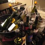 オステリア ラ・マンテ - グラスワインは10種類以上