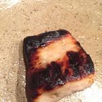 浜鮮魚 - さわらの塩麹焼き(焦げ…笑)