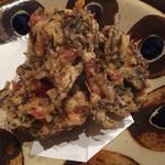 浜鮮魚 - もずく天ぷら
