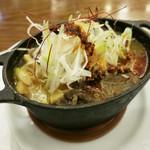 ビヤホールライオン - ビアホールの煮込み~坦々風味~ 780円