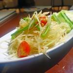 Sukhontha - 青パパイヤのサラダ 1300円(税別)