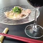ニライカナイ - あぐー豚とプロシュートのサルティンボッカ~シークヮーサーバター風味