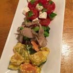 チチカブ - 前菜3種盛り
