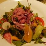57387631 - 「牛しゃぶと有機野菜のサラダ」