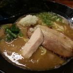 三代目麺処まるは極 - 鶏白湯らーめん2016.9.27