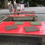 比叡山延暦寺 売店 - テラス席