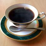 パパアンジェロ - 「コーヒー」。ランチにセットすると150円で飲める。