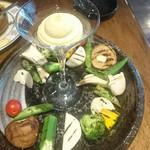 57389145 - グリル野菜のバーニャフレッダ