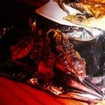 金泉 - ホタルイカのあぶり焼き
