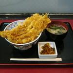味奈登庵 - 「穴子天丼」です。