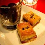 ラ・ロシェル - ベーコンのパイとオリーブ