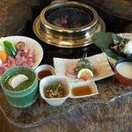塚原の里 - 料理写真:人気no1の地鶏の炭火焼!
