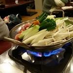 とり一番本舗 - 地鶏四川風火鍋♪