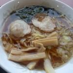 カフェ スマイル - 料理写真:「醤油ラーメン(500円)」[平成28年10月13日(木)]