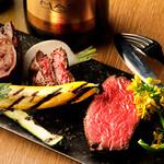 エロうま野菜と肉バル カンビーフ - 絶品グリルは絶妙な肉と野菜のハーモニーを奏でております♪