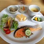 かふぇ&ごはん 空 - 料理写真:ワンプレートランチ(お魚)