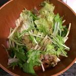 魚串さくらさく - サラダ